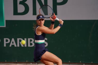 Nadia Podoroska ganó en dos sets y ya está en el cuadro principal de Roland Garros