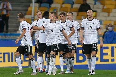 Luego de tres empates (uno de ellos en un amistoso), Alemania volvió al festejar, ante Ucrania