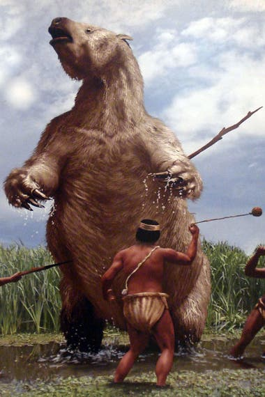 La humanidad sudamericana convivió con la megafauna, tal como sostenía Florentino Ameghino y como se pudo comprobar décadas después