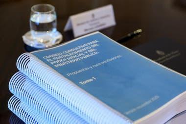El documento que elaboraron los expertos del Consejo Consultivo