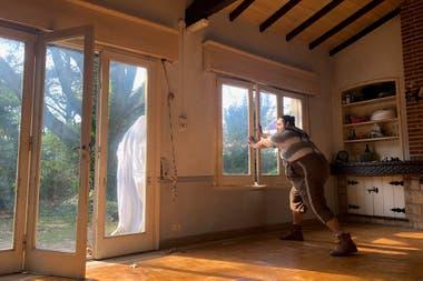 Una de fantasmas, filmada en una casa