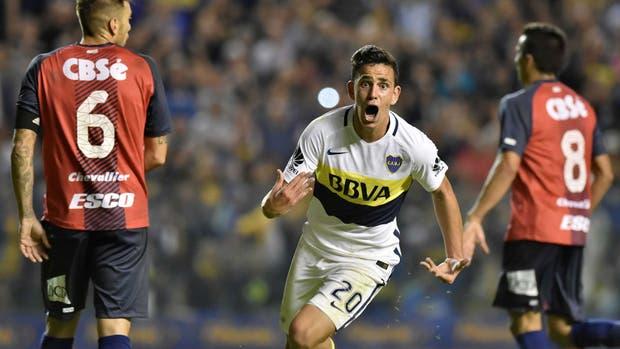 La felicidad de Maroni ante Arsenal