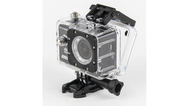 Deportiva. La MDQ Cam 4K de PC Box posee un lente de 140°, pantalla de 2