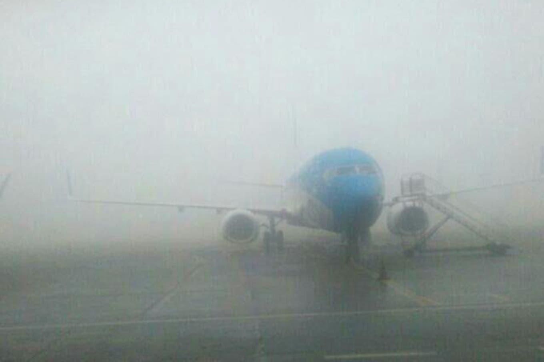 Cerraron Ezeiza y Aeroparque hasta mañana por la niebla