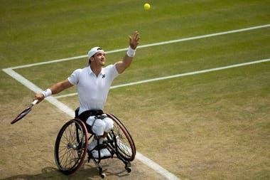 Gustavo Fernández ya disfruta de su acceso a la final de Wimbledon