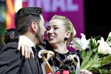 Carla Rossi y José Luis Salvo, ganadores del Mundial de Tango