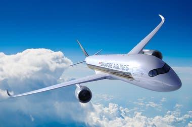 Se trata del SQ22 de la aerolínea Singapore Airlines