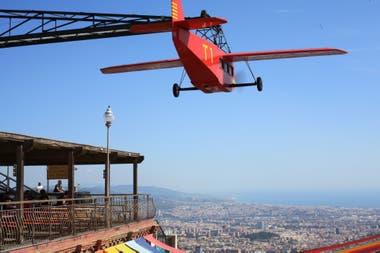 El parque de diversiones Tibidabo, donde Merlí y su hijo se despiden