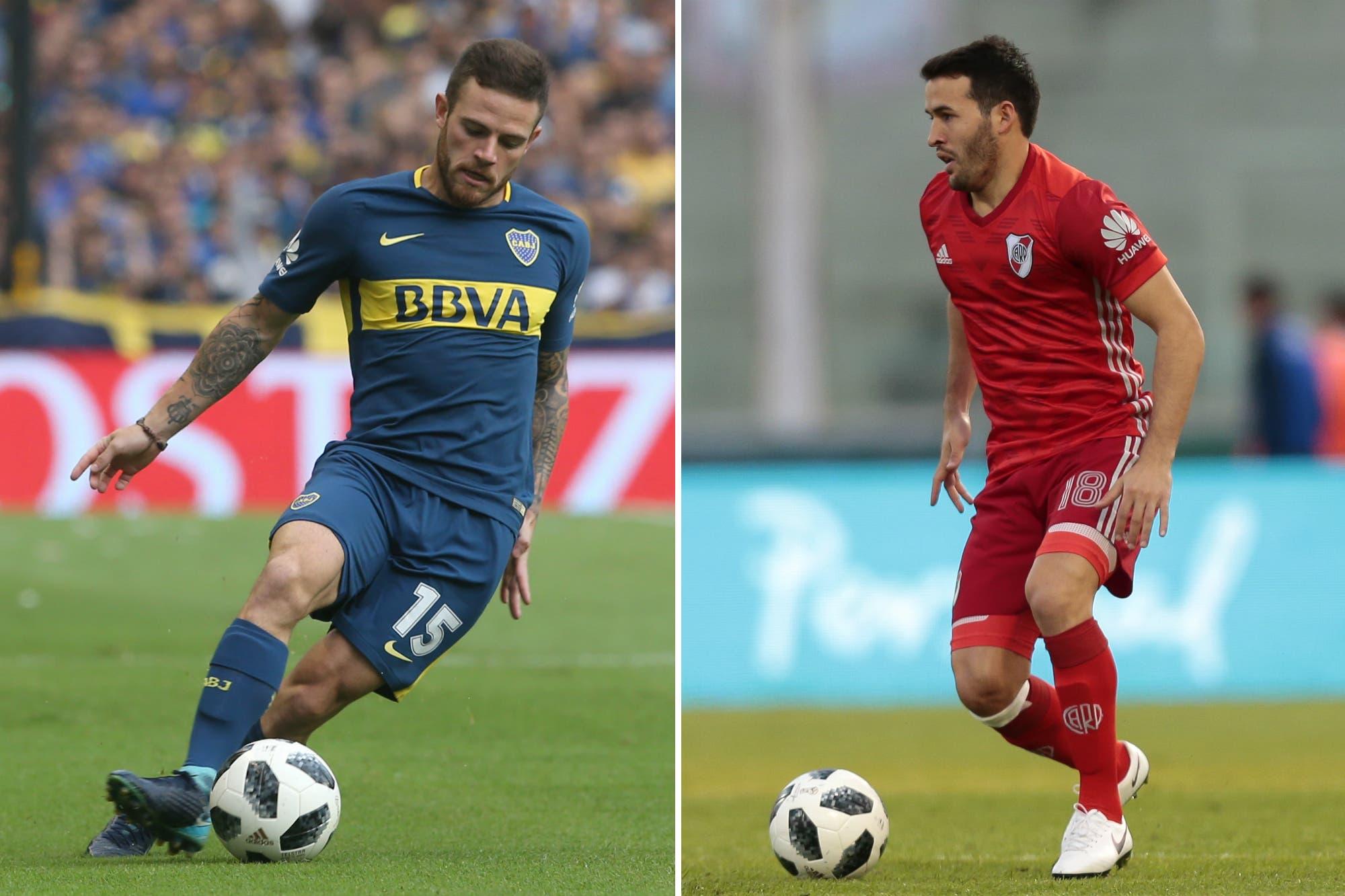 Copa Libertadores: Nahitan Nández y Camilo Mayada podrán jugar la final para Boca y River