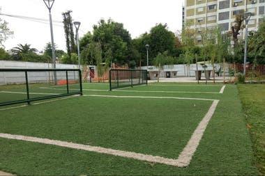 El parque tiene más de 1000 metros cuadrados