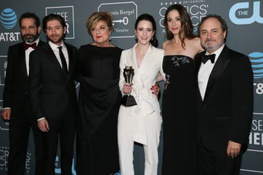 Parte del elenco de la ganadora serie The Marvelous Mrs. Maisel