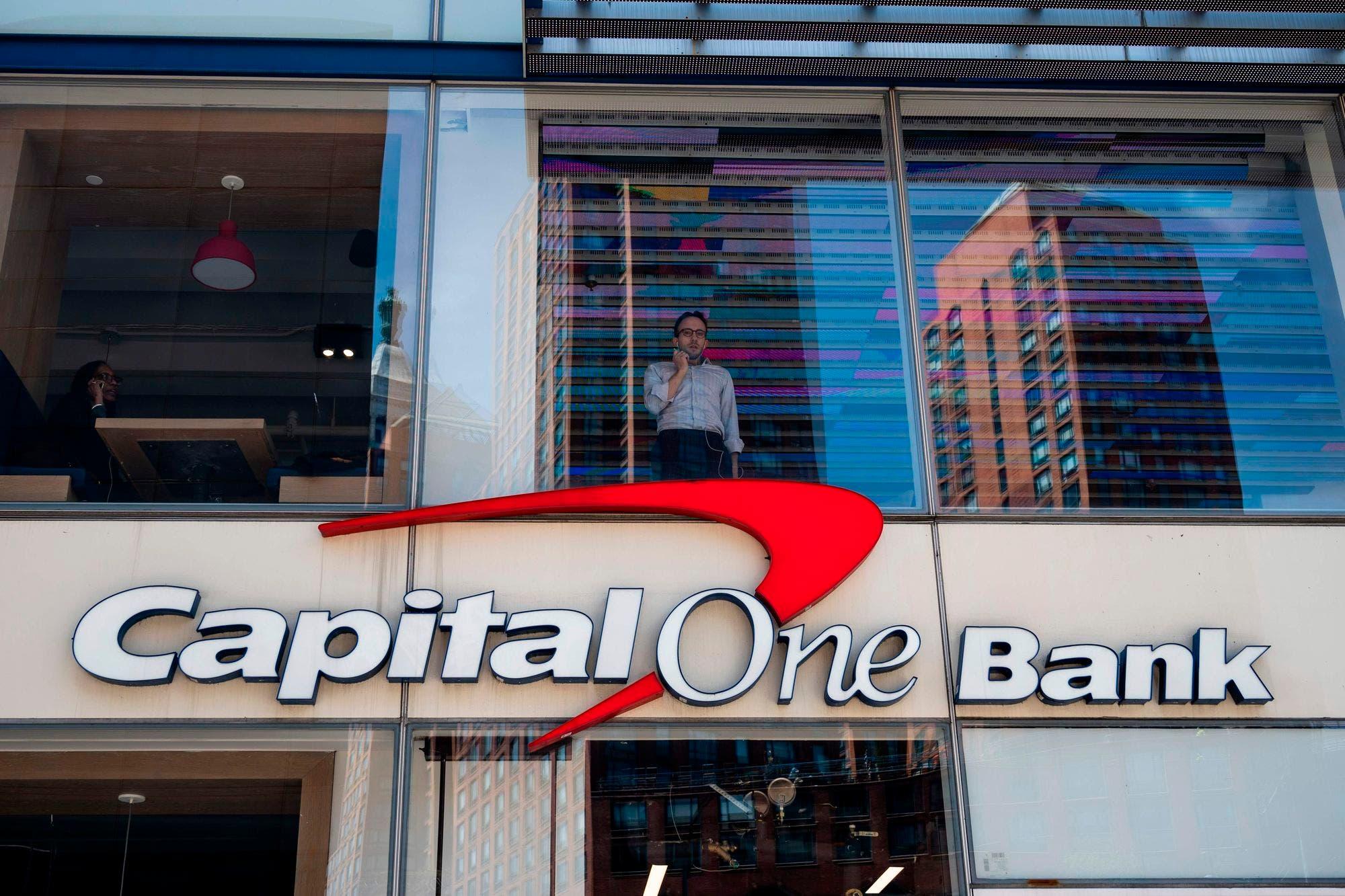 Roban los datos de 100 millones de clientes del banco Capital One en EE.UU.