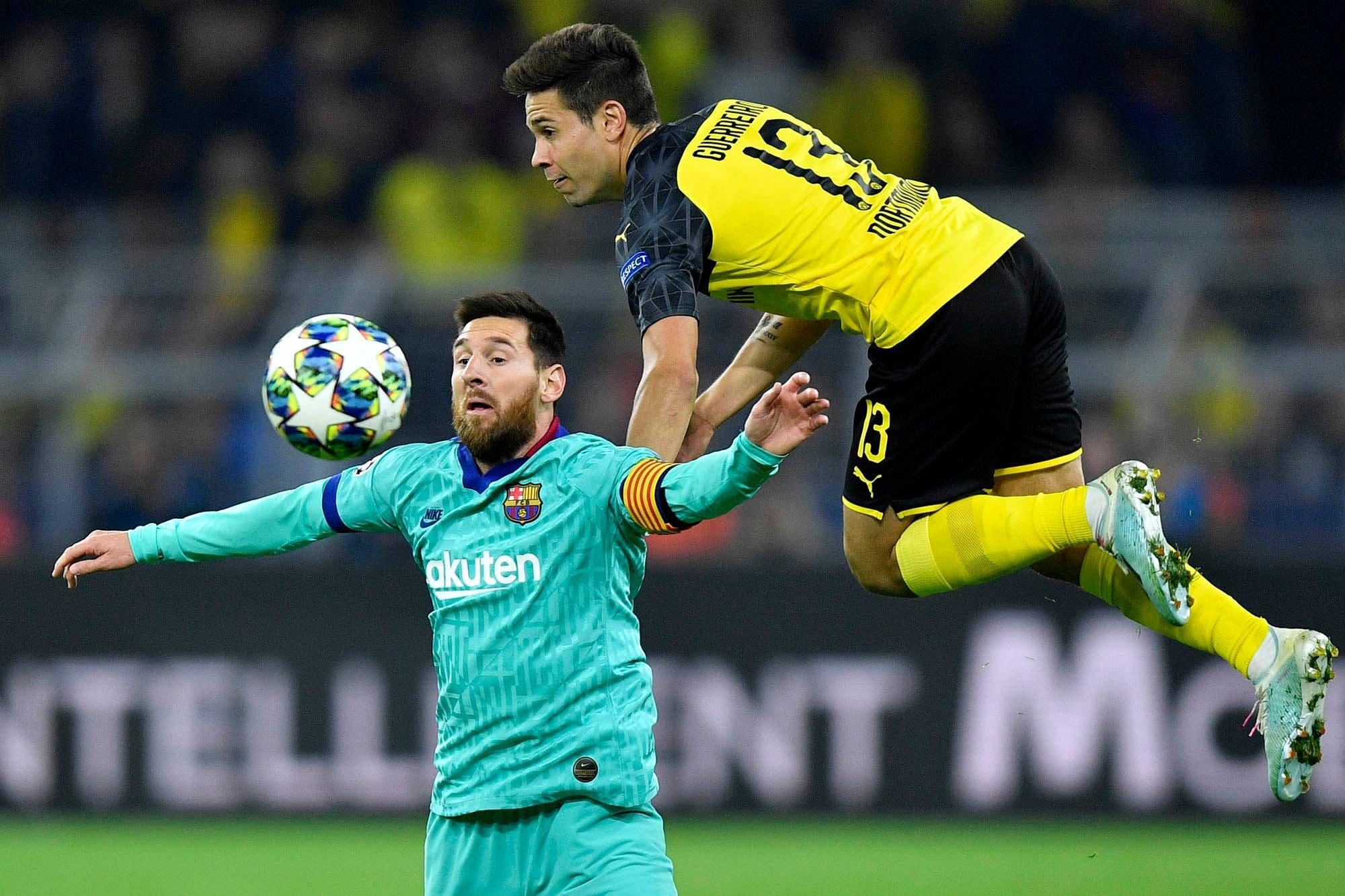 Volvió a jugar Lionel Messi, pero a Barcelona no le alcanzó: empató con Borussia Dortmund por la Champions League