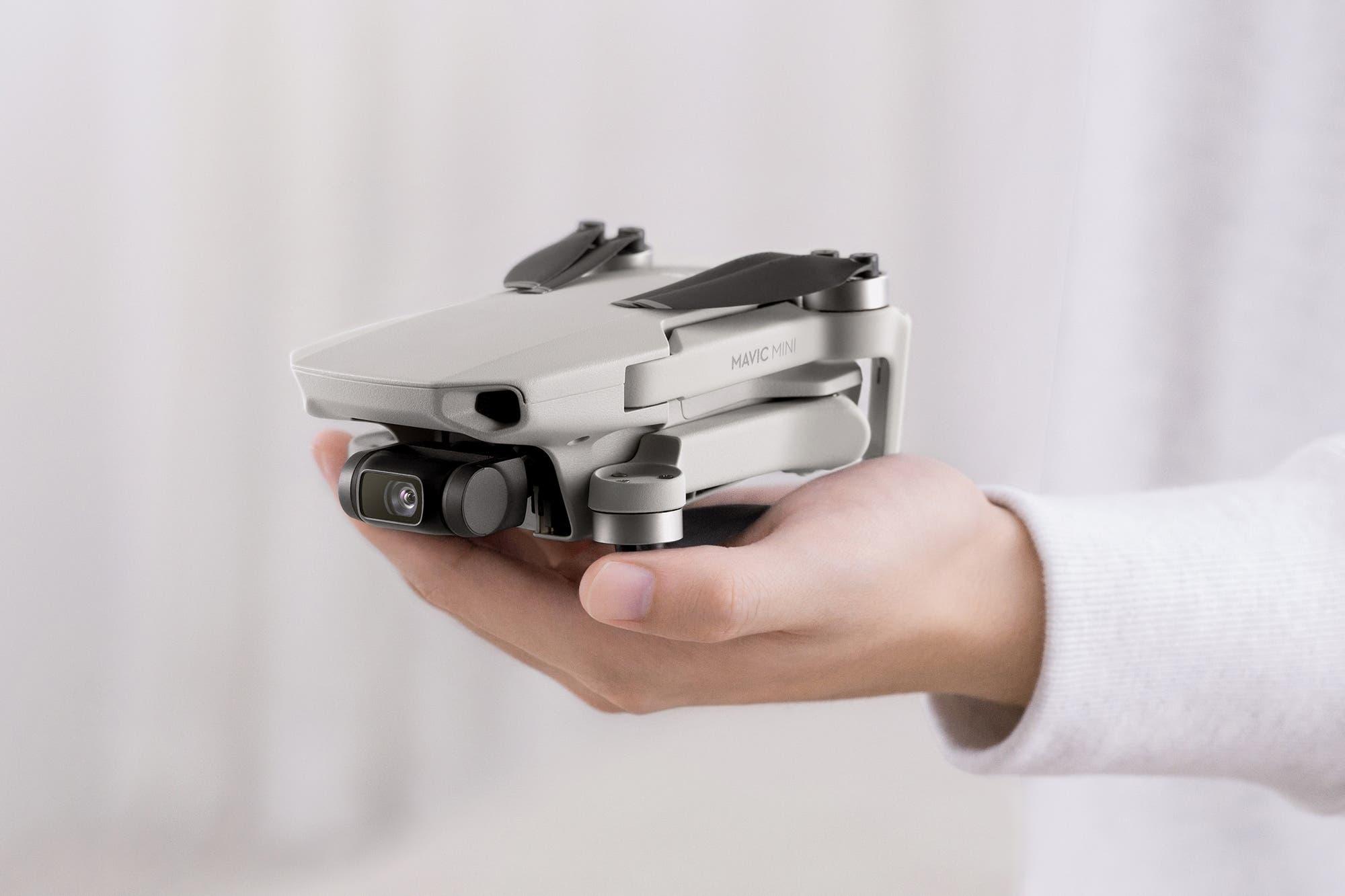DJI lanzó el Mavic Mini, el drone compacto que pesa solo 250 gramos
