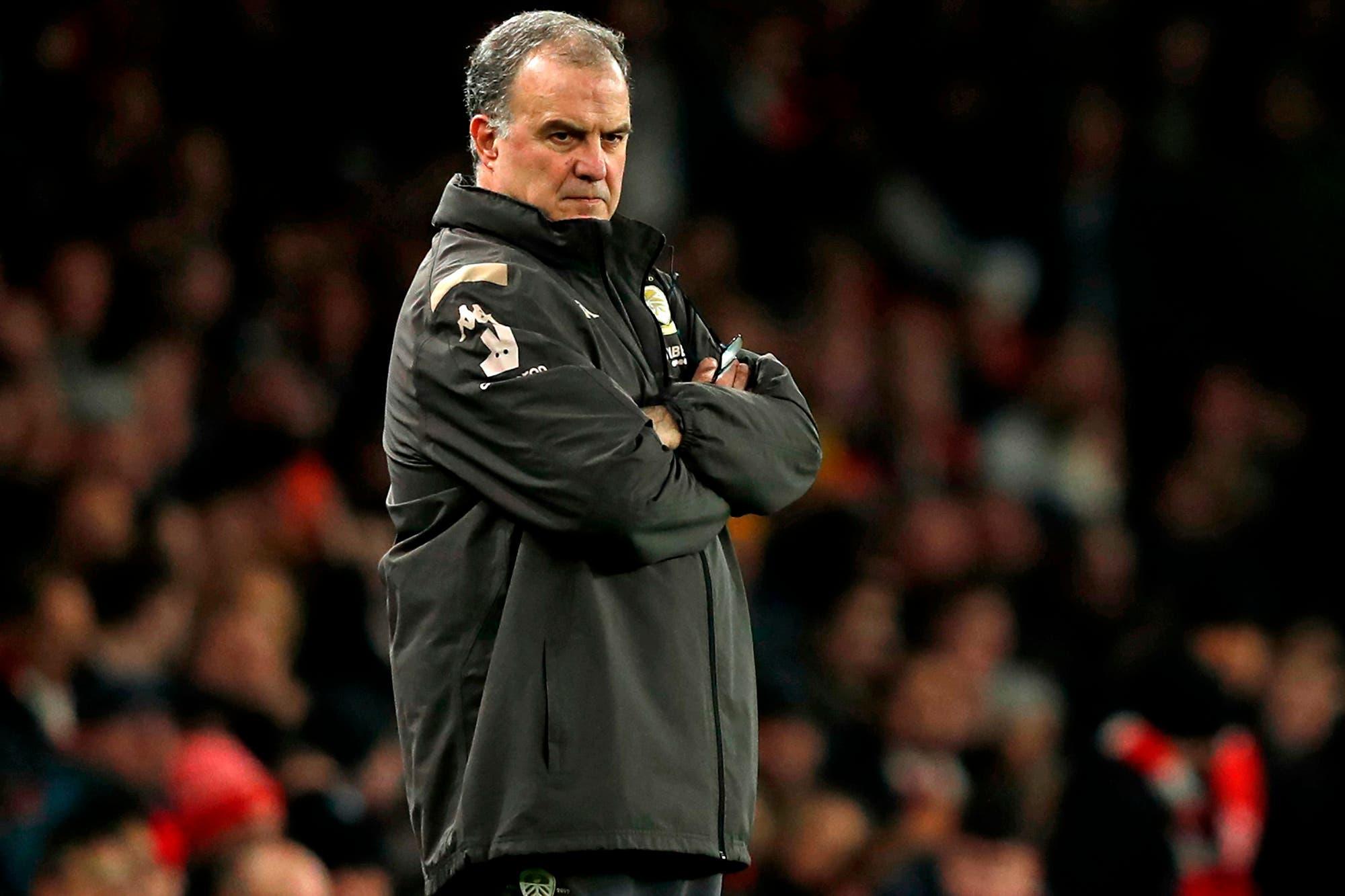 El Leeds de Bielsa se despidió de la FA Cup con una derrota ante Arsenal