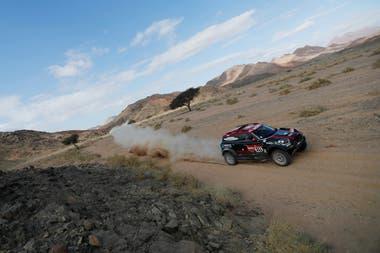 Orly Terranova en la cuarta etapa del Dakar 2020