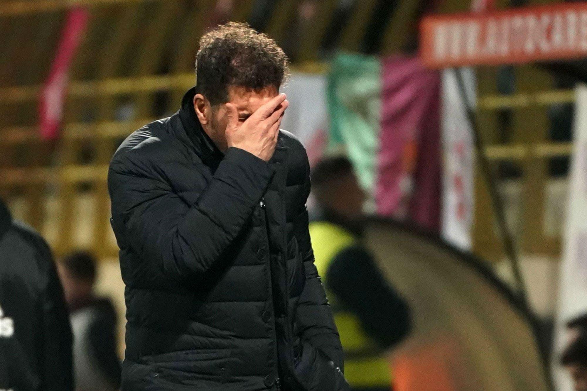 La debacle: el Atlético de Madrid de Simeone, eliminado de la Copa del Rey por un equipo de tercera división