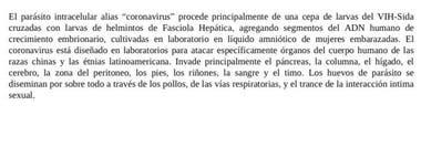 La teoría de Nicolás Maduro que explica el origen del coronavirus; esta información se publicó en su cuenta de Twitter, que más tarde fue bloqueada