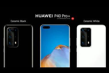El P40 Pro Plus, el modelo tope de gama de Huawei, equipado con cinco cámaras