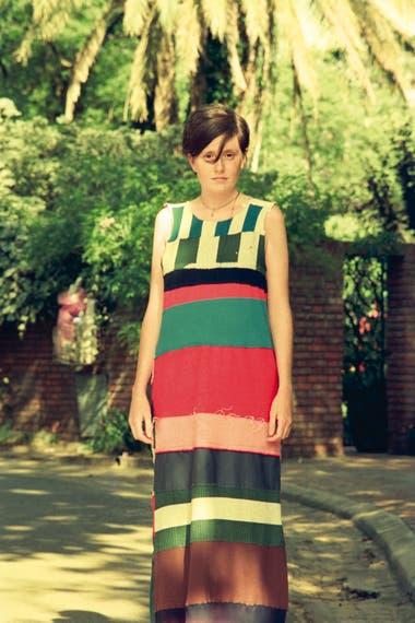 Gabi Bunader. La forma de transgredir con su aspecto la convirtió en su propia modelo; en 1984 comenzó a vender sus colecciones