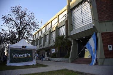 La sede de Vicentin, en Avellaneda, Santa Fe