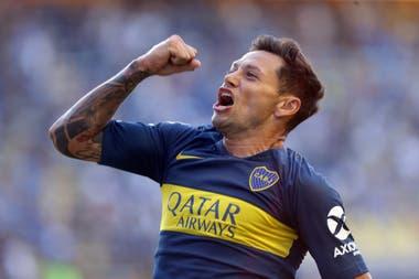 Para encontrar un grito de gol de Zárate en Boca hay que remontarse a 2019