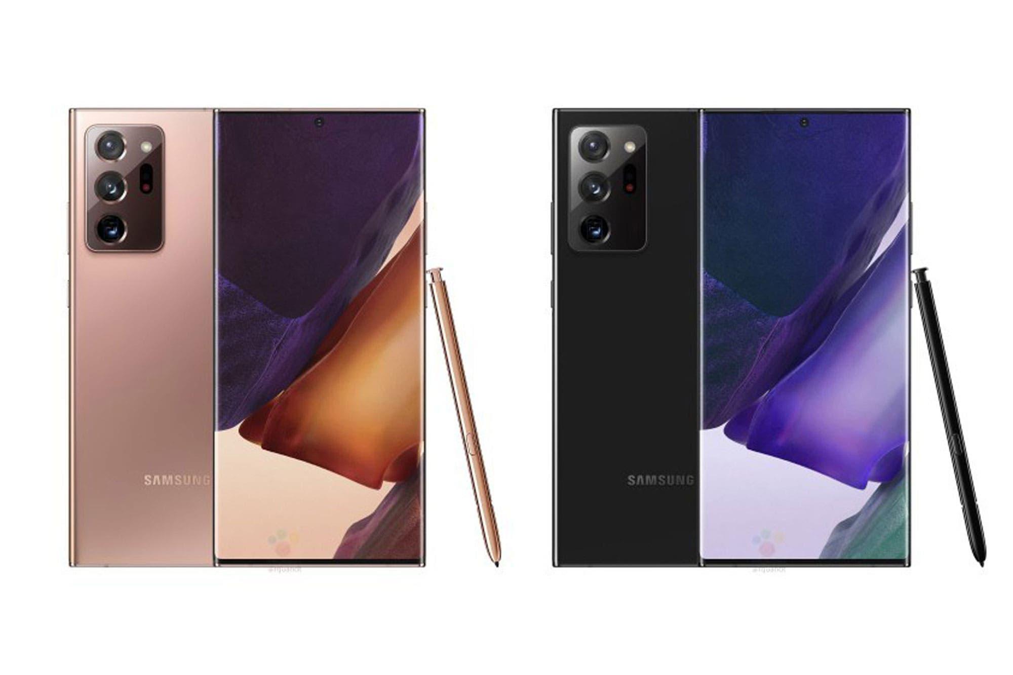 Galaxy Note 20 Ultra sin secretos: revelan cómo serán los diferentes modelos del próximo celular de Samsung