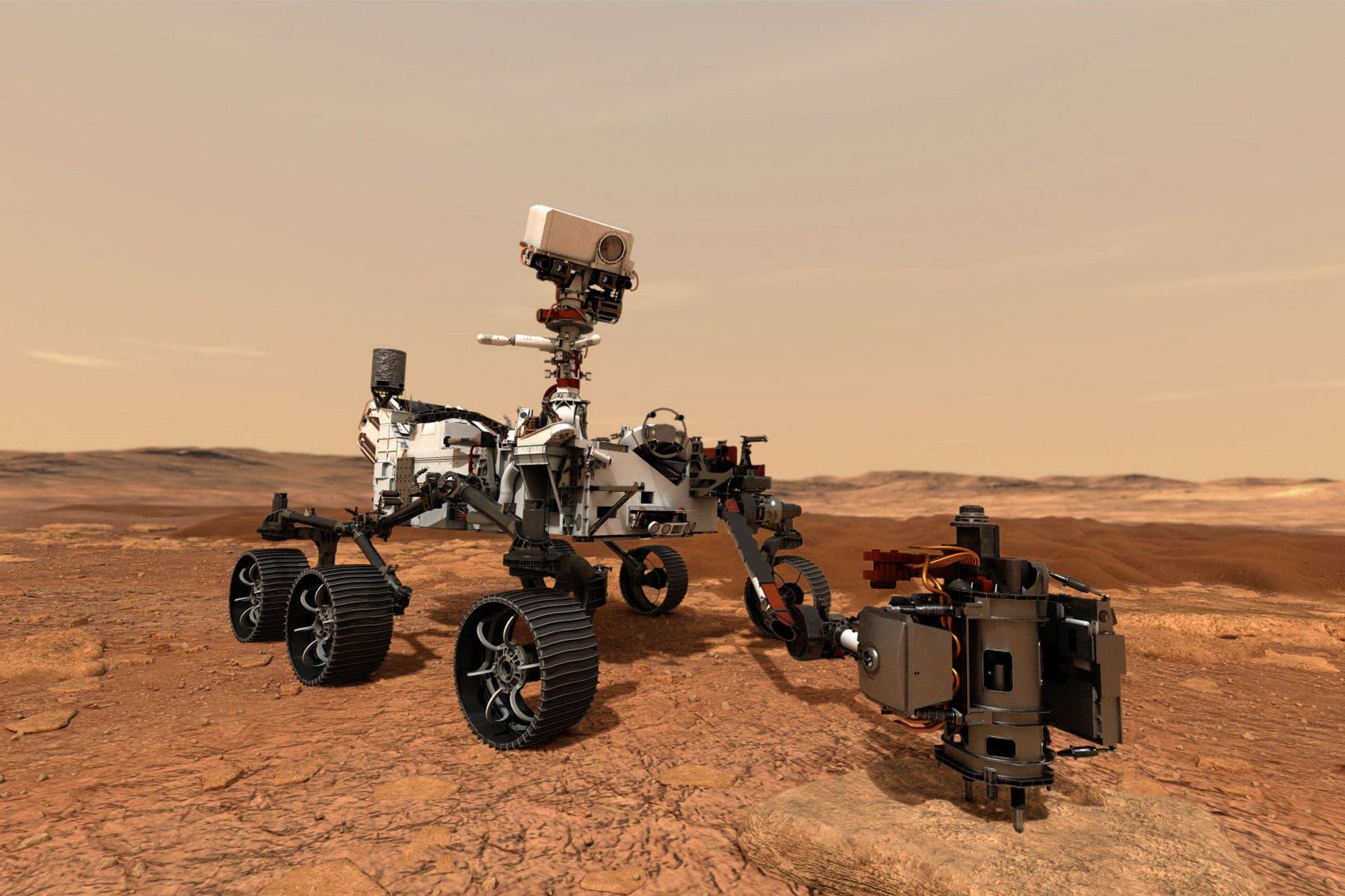 Sonido marciano: los micrófonos del rover Perseverance registrarán el primer video con audio de Marte
