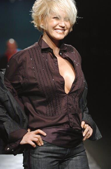 Una imagen de hace quince años, tomada durante el San Pablo Fashion Week de 2005.