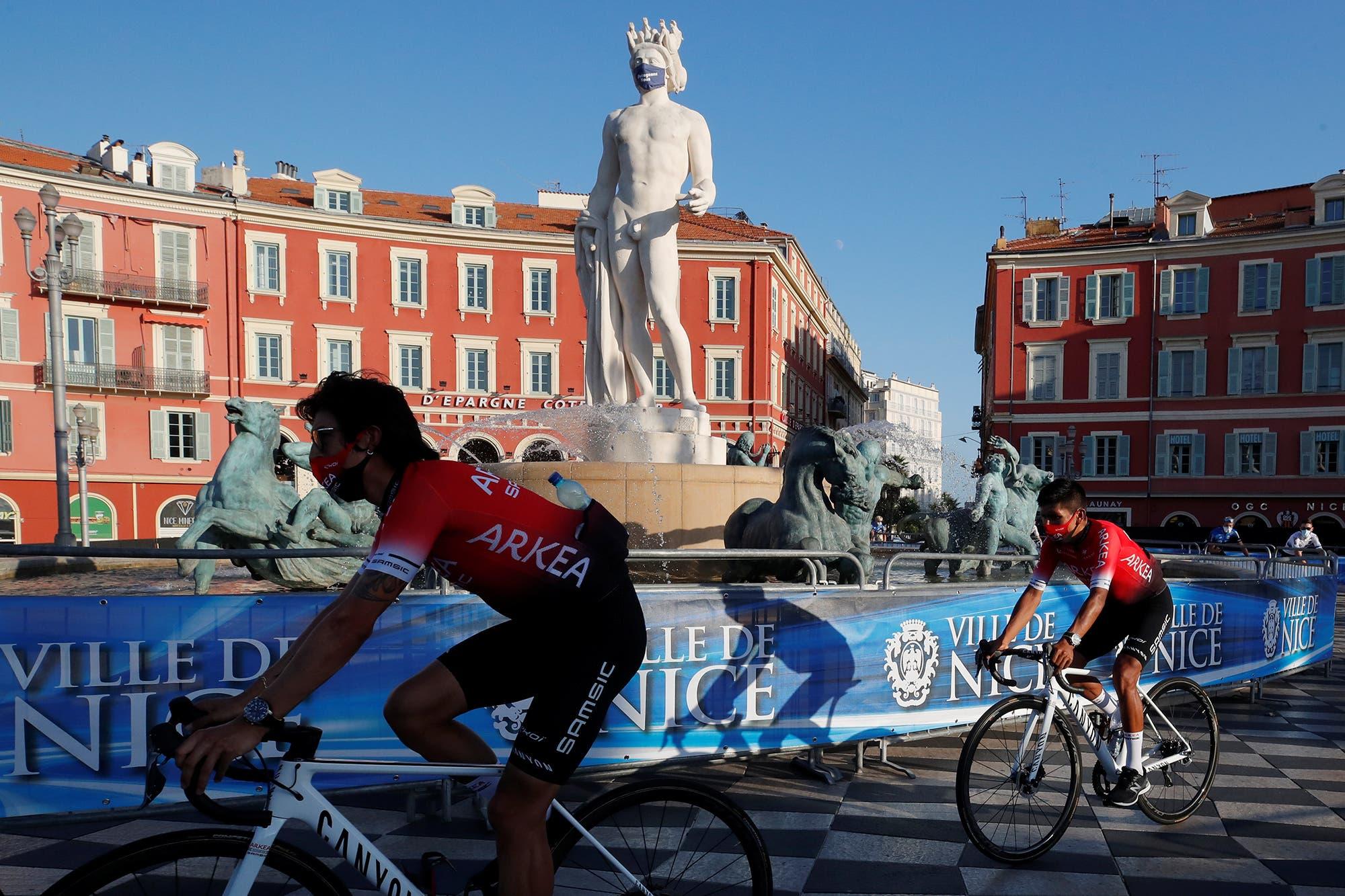 Empieza el Tour de Francia, con 176 ciclistas y el público desafiando el virus durante 3400 kilómetros