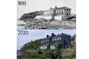 Islas Grosse-Ile, Quebec, Canadá. El lugar fue un hotel para inmigrantes que se conserva a la perfección