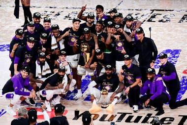 Los Angeles Lakers, campeones tras diez años