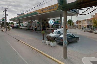 La estación de servicio ubicada en la avenida Sabattini al 5700 de la ciudad de Córdoba en el año 2015