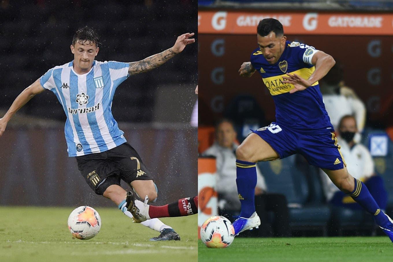 Racing - Boca: horario, TV y formaciones del partido de cuartos de final de la Copa Libertadores