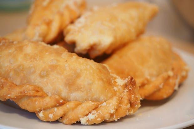 Receta de Empanaditas de mermelada de cebolla y queso