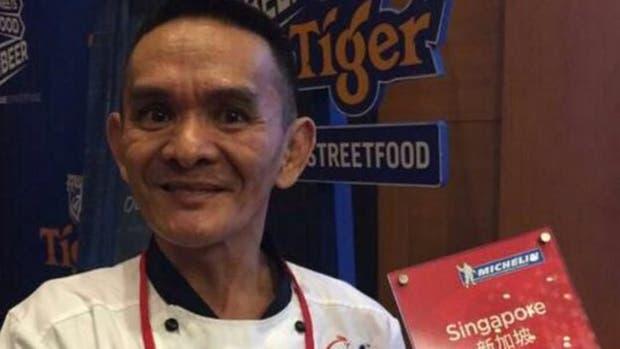 Chan Hon Meng dijo a BBC Mundo que todavía no ha decidido dónde colgar la placa con la estrella Michelin