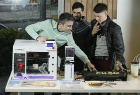 David Cimino, Rodrigo Pérez Weiss y Tomás Chernoff desarrollan esta tecnología