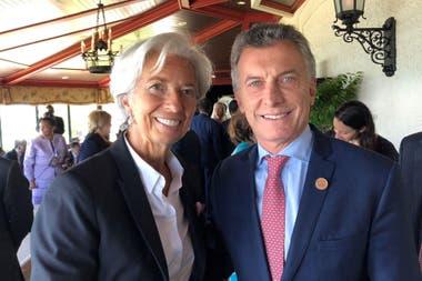 La directora del FMI viene con el equipo que sigue el caso argentino; hablarán de la agenda global