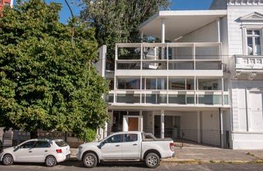 La Casa Curutchet, proyectada por Le Corbusier.