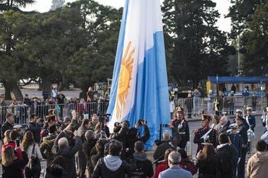 Acto por el Día de la Bandera en Rosario