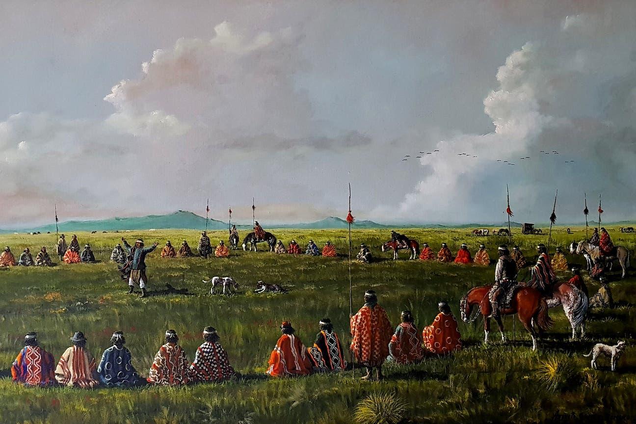 """""""Parlamento"""", obra de Augusto Gómez Romero"""