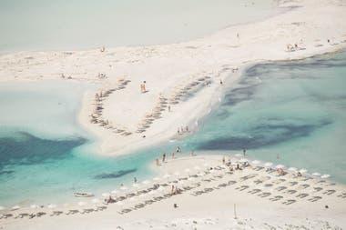 Una de las playas de Creta