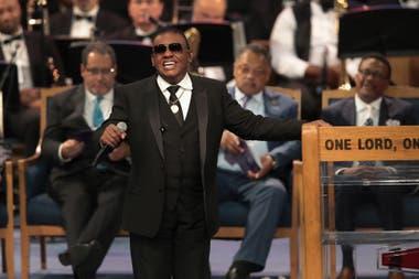 Tributo musical a Franklin en el templo