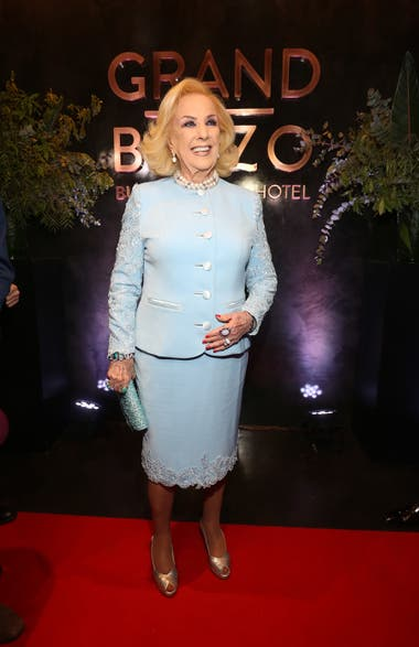 Mirtha Legrand fue la invitada de honor en la inauguración de un exclusivo hotel