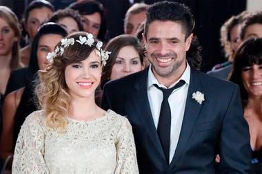 Celeste Cid y Luciano Castro protagonizaron la telenovela Sos mi hombre y volvieron a cruzarse en Las Estrellas