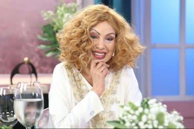 La actriz, icono de los 80, está internada en el Fernández desde el 4 de junio