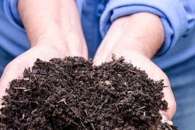 Para acelerar la descomposición, un activador muy enérgico es una palada de compost viejo bien logrado, mezclada en la pila.