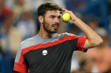 Londero, ante un gran desafío: se medirá con Novak Djokovic