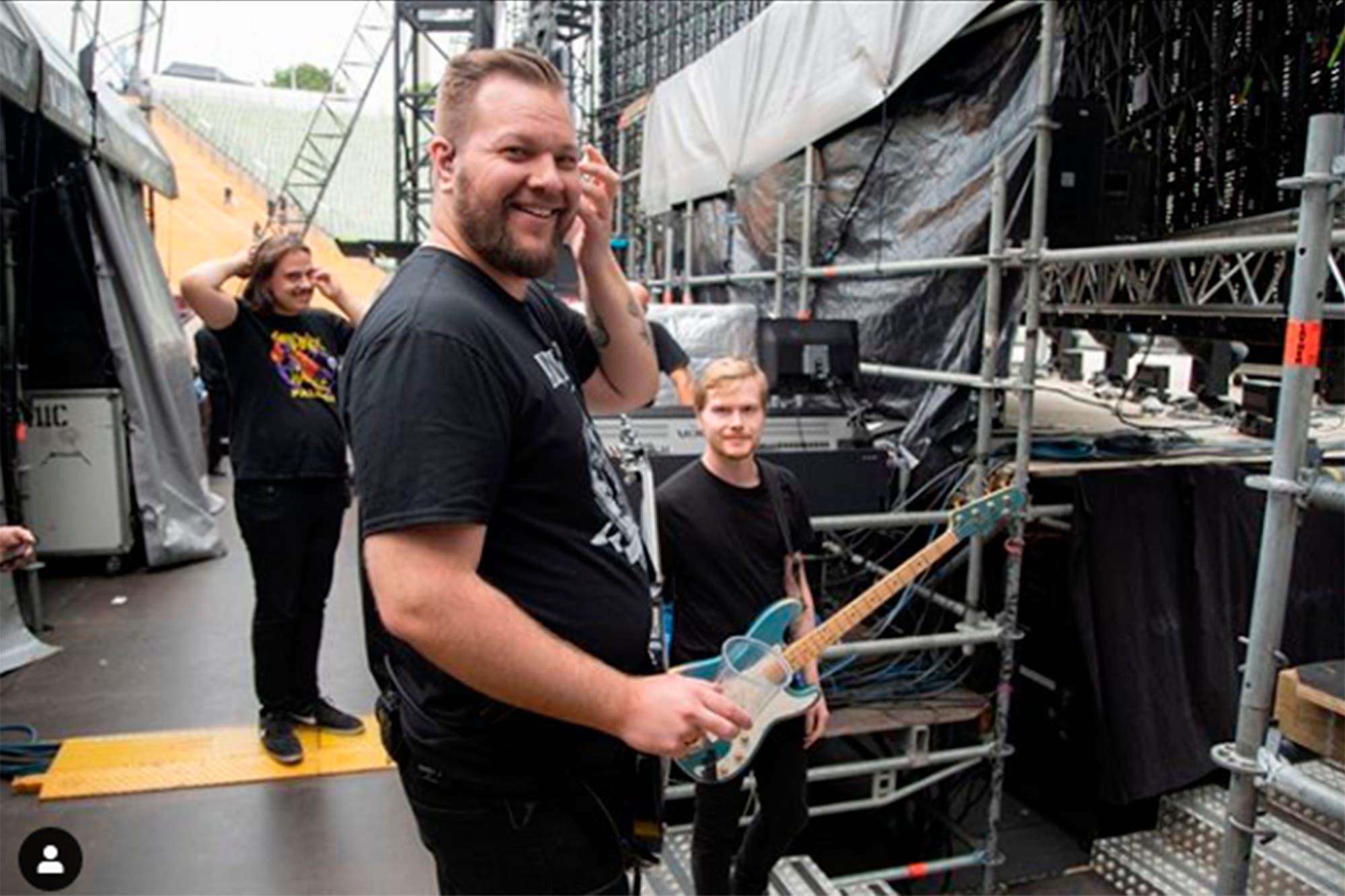 James Hetfield entró a rehabilitación y Metallica suspendió su gira por Australia