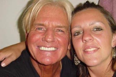 Sergio Denis junto a su hija Bárbara Hoffmann